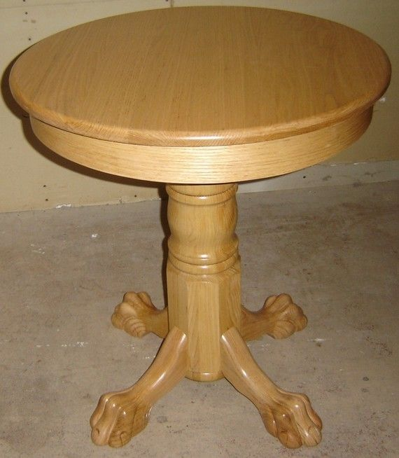 Hand Crafted New Solid Oak Wood 28 Quot Small Round Kitchen