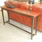 Custom Made Reclaimed Wood Sofa Table By Jay S Custom Woodwork Custommade Com