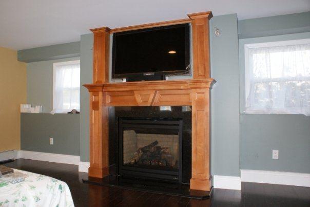 Custom Fireplace Mantel By Cross Cut Construction Amp Custom