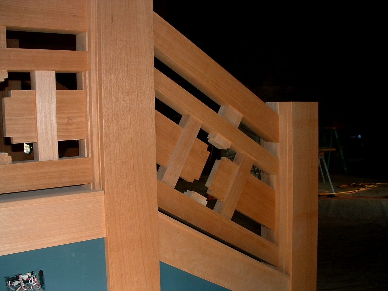 Handmade Mahogany Stair Rail By Pacific Millworks | Mahogany Handrails For Stairs