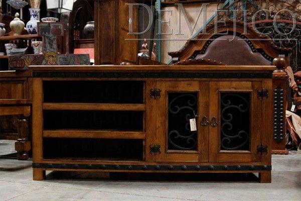 Custom Made Alamo Tv Stand By Demejico Inc Manufactures