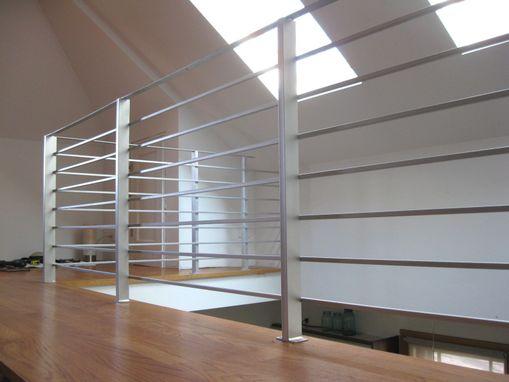 Hand Made Modern Interior Railing By Bader Art Metal