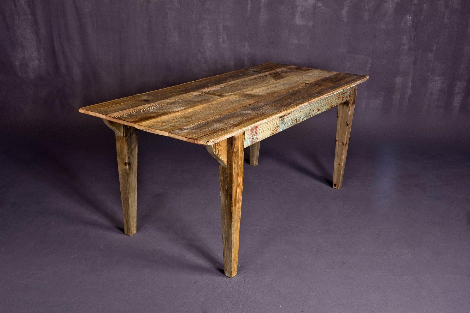 Custom Reclaimed Barn Wood Dining Table By Heirloom, LLC