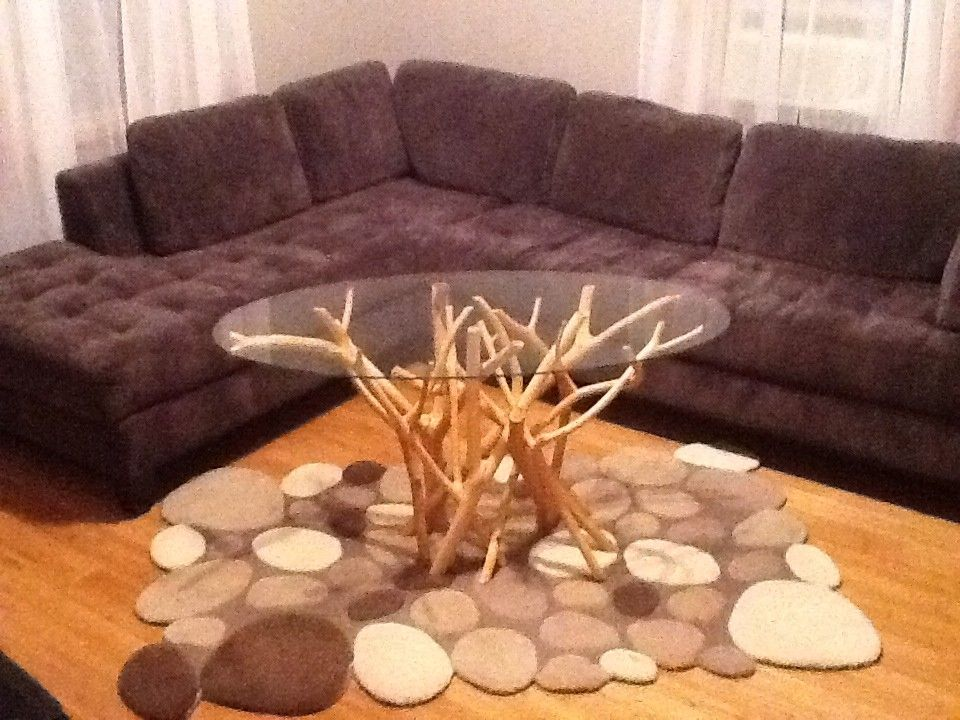 nature inspired coffee table