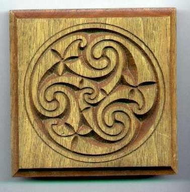 Hand Crafted Carved Celtic Casement Moldings By Patrick