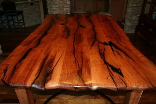 Hand Crafted Mesquite Dining Table By Porch Light Custom Woodworking