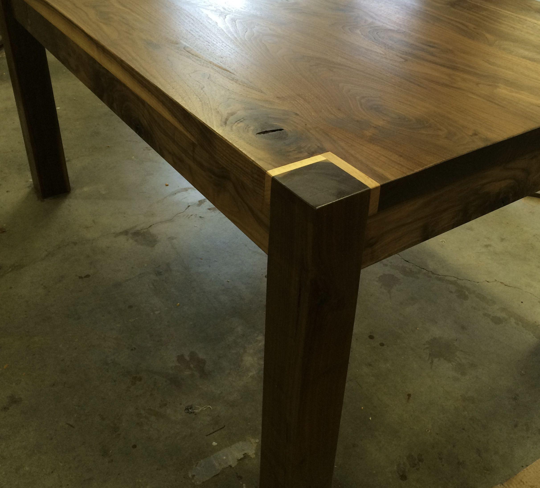Custom Made Black Walnut Dining Table By Appalachian Framery