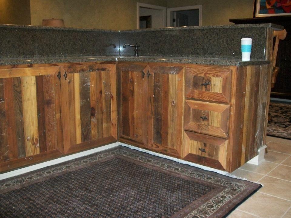 Custom Made Rustic Bar By Buchanan Family Arts