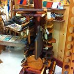 Hand Made Cedar Retail Cutting Board Display By Earthshack Custommade Com