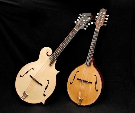 Hand Crafted Custom Handmade Mandolin Family Musical