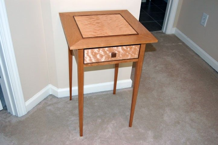 Custom Shaker End Table By Subterranean Woodworks