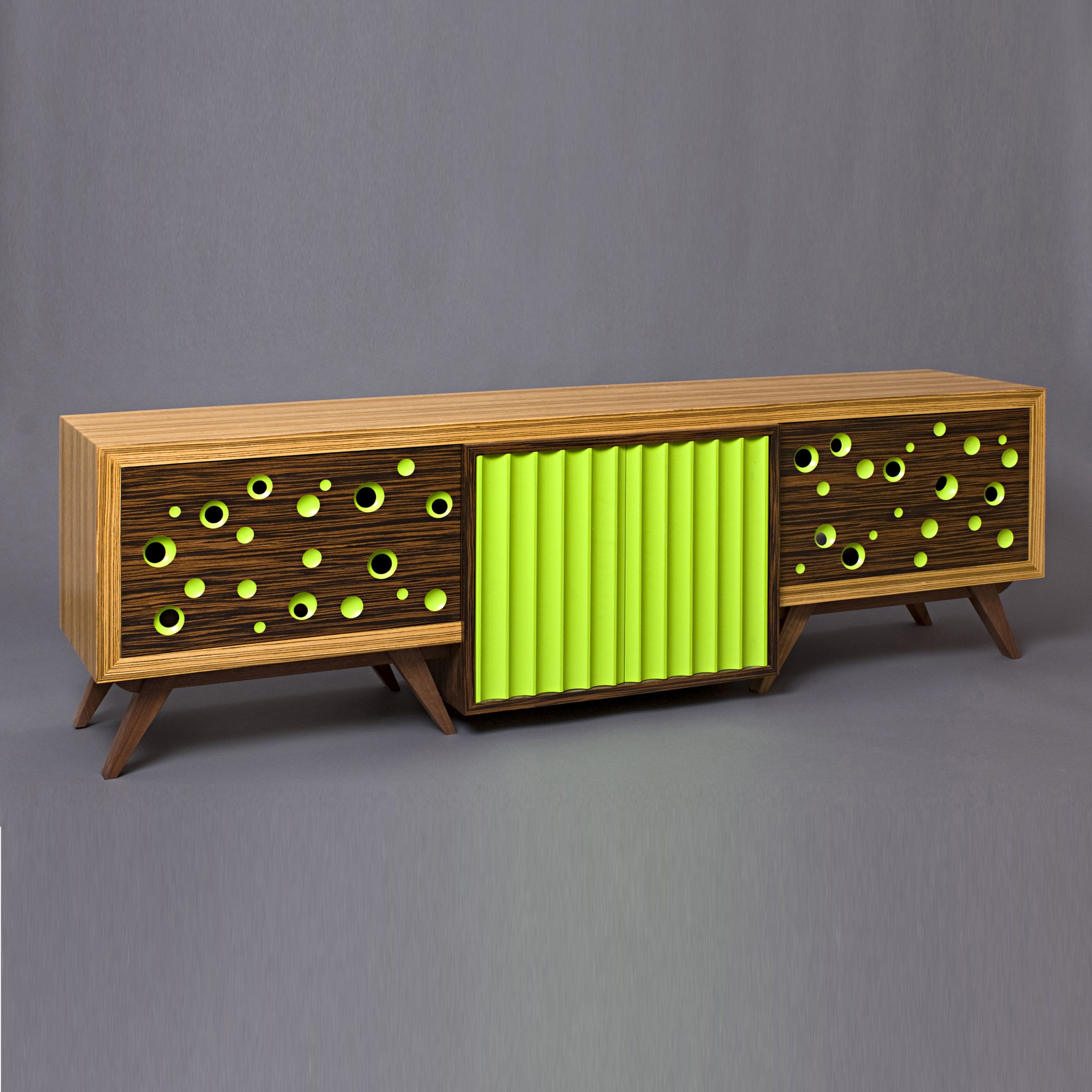 Handmade Tv Stand Mid Century Modern Media Console Entertainment Center Retro Tv Stand Media Cabinet By Nathan Hunter Design Custommade Com