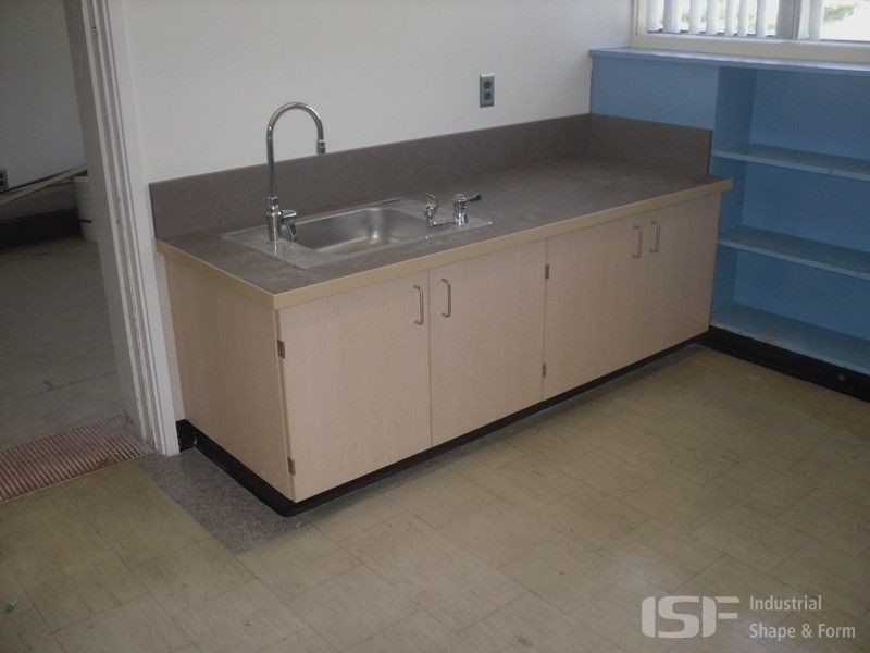 Hand Made ClassroomCommercial Vanity By Industrial Shape