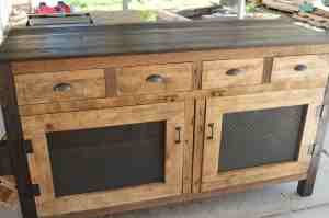 Buy A Hand Crafted Kennel Kitchen Island Made To Order From