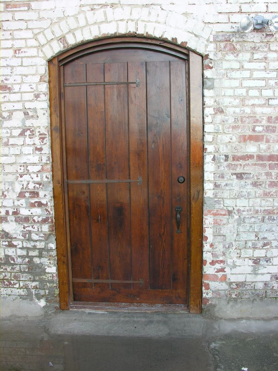Hand Made Impressive Old World Country Door By Virginia
