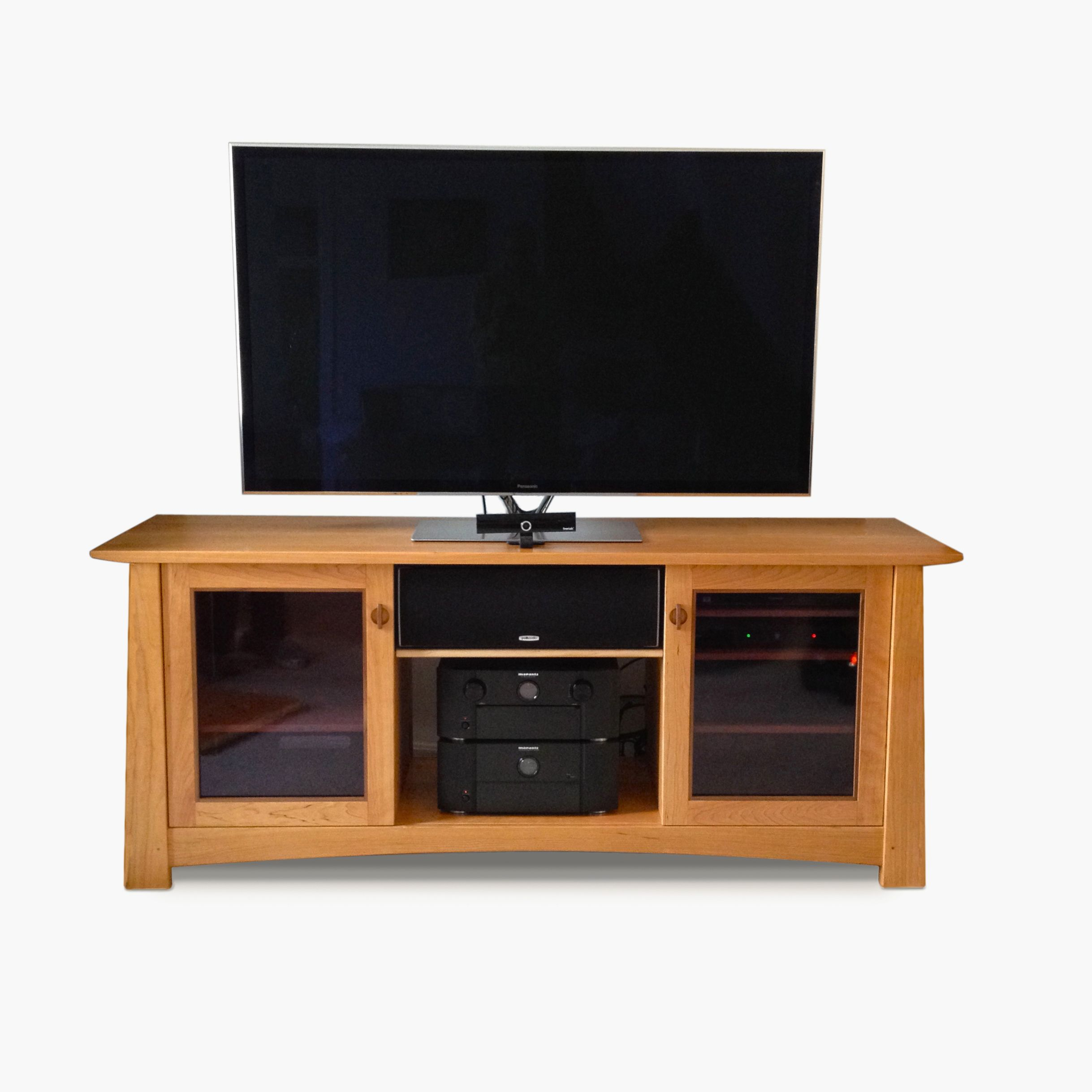 Custom Arts And Crafts Tv Stand Console Purple Moon