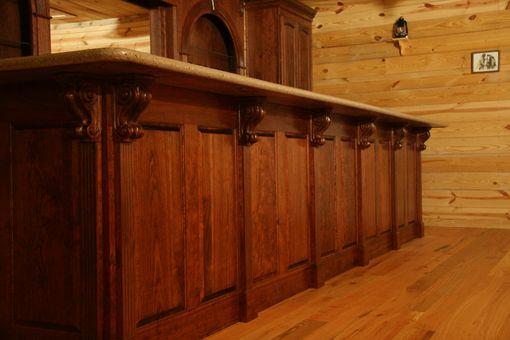 Hand Made Western Bar By Oak Creek Cabinets Custommade Com