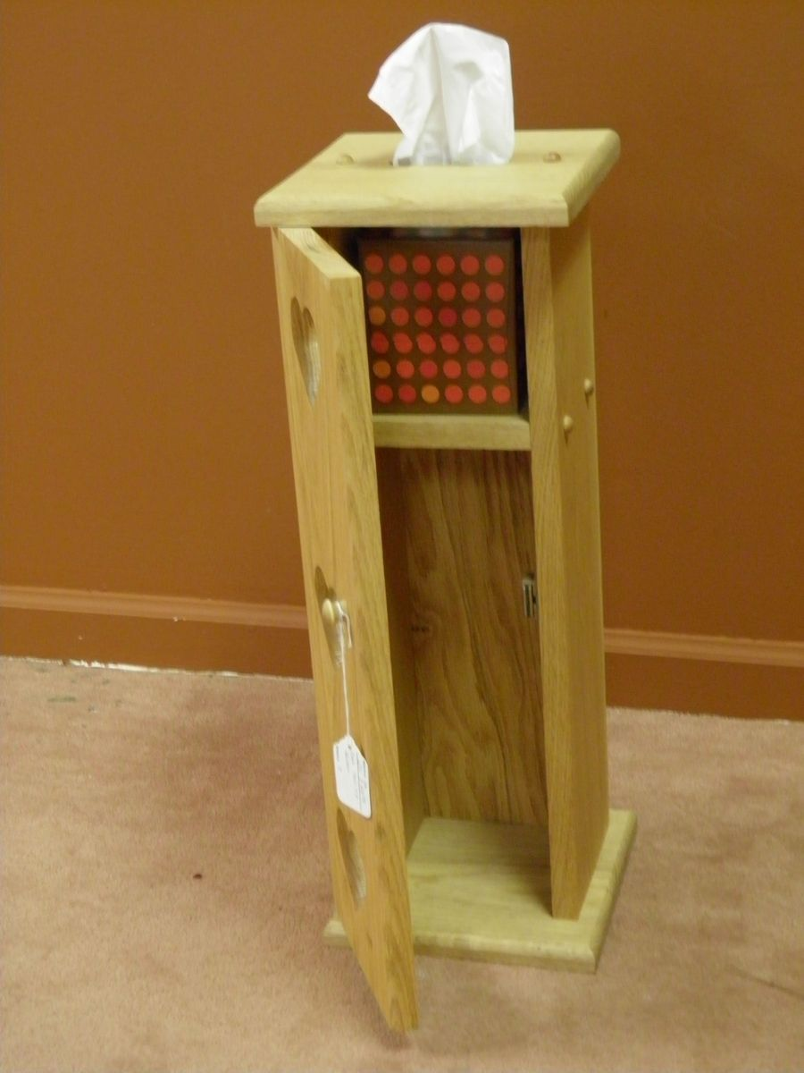 Custom Made Toilet Paper And Tissue Holder By Windy Woods