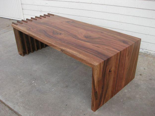 custom fenceboard foldover coffee tablesan diego urban timber