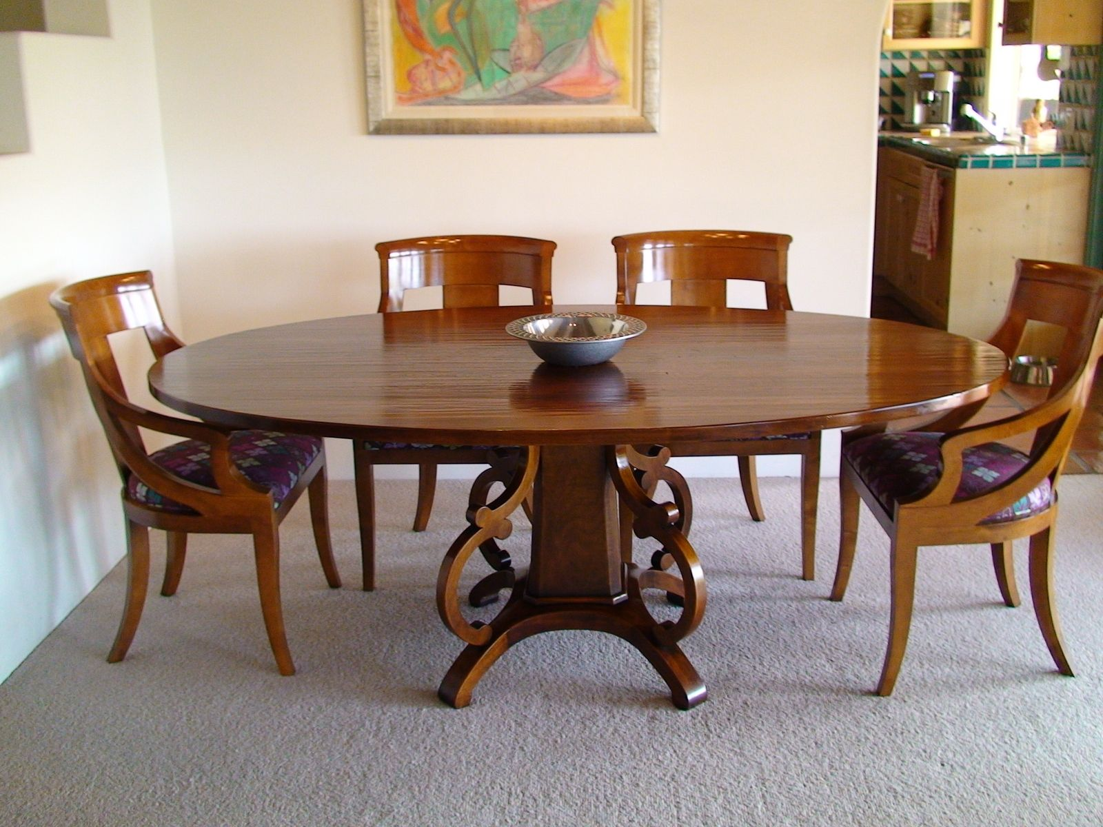 Hand Crafted Dining Table By Farrow Woodwork Manufacturing
