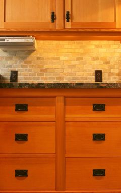 Hand Crafted Custom Cabinetry Douglas Fir Kitchen