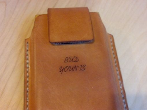Buy A Hand Crafted Leather Cell Phone Holsters Samsung