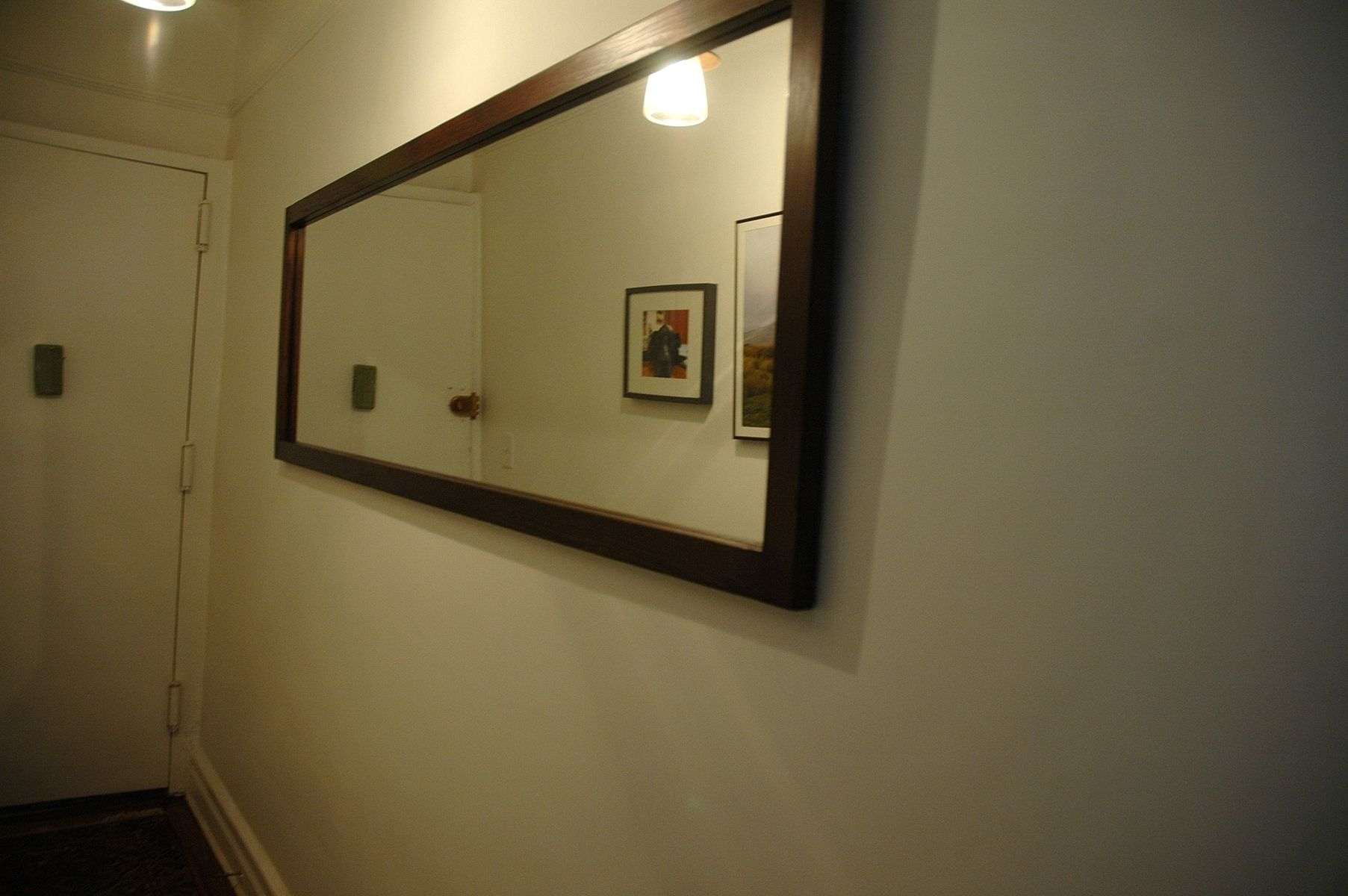Handmade Long Hallway Mirror By Wooden It Be Nice