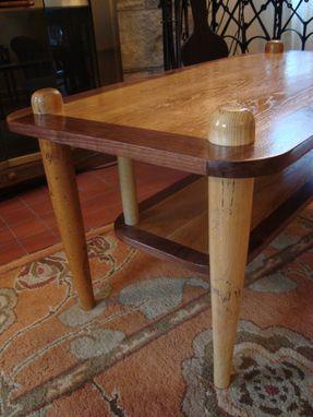 Custom Made Baseball Bat Coffee Table By Uncommon