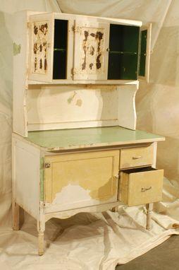 Hand Made Hoosier Cabinet Restoration By Jetwoodshop