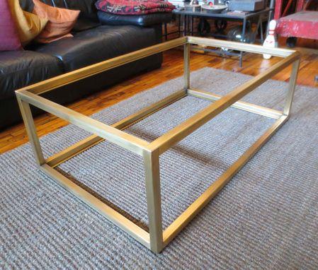 metal modern coffee table base