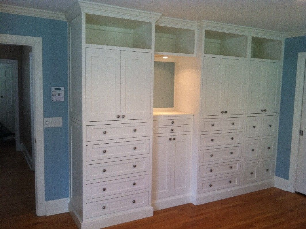 Hand Made Master Bedroom Built-In By Borders Woodworks