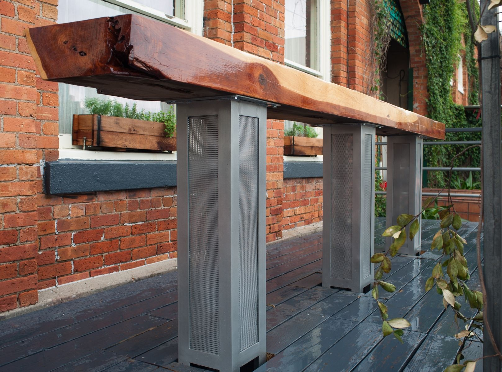 Custom Made Ox Outdoor Bar By Dumptruck Design