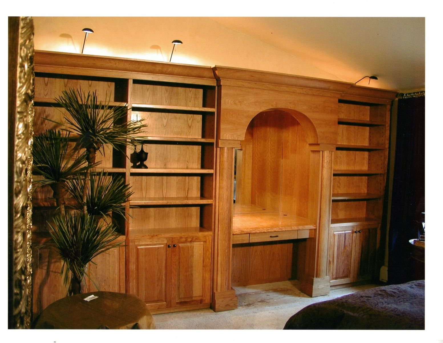 Hand Crafted Bedroom Wall Cabinets By Parker Custom Woodworks Custommade Com