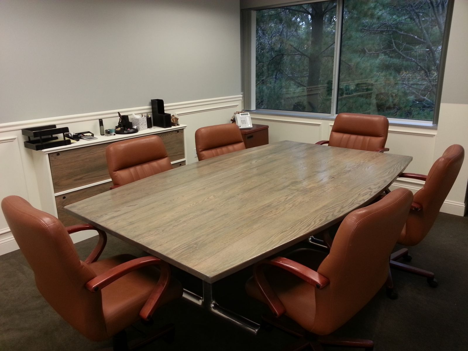 Custom Conference Table By AJC Woodworking