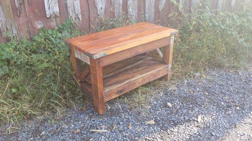 saloon style western coffee table