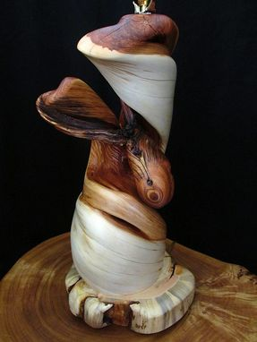 Custom Made Twisted Juniper Wood Table Lamp Rustic Home Decor By Rocky Mountain Twist
