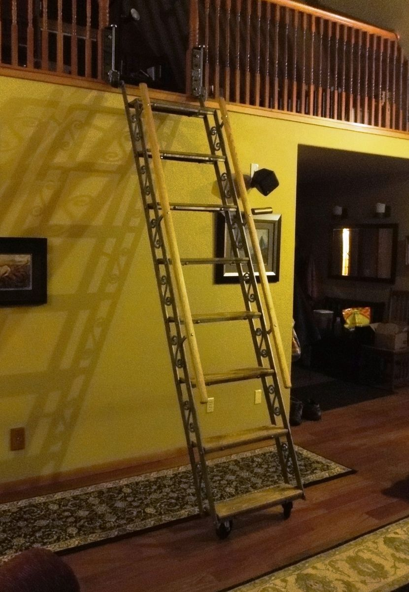 Custom Ladder By Incandescent Ironworks Ltd