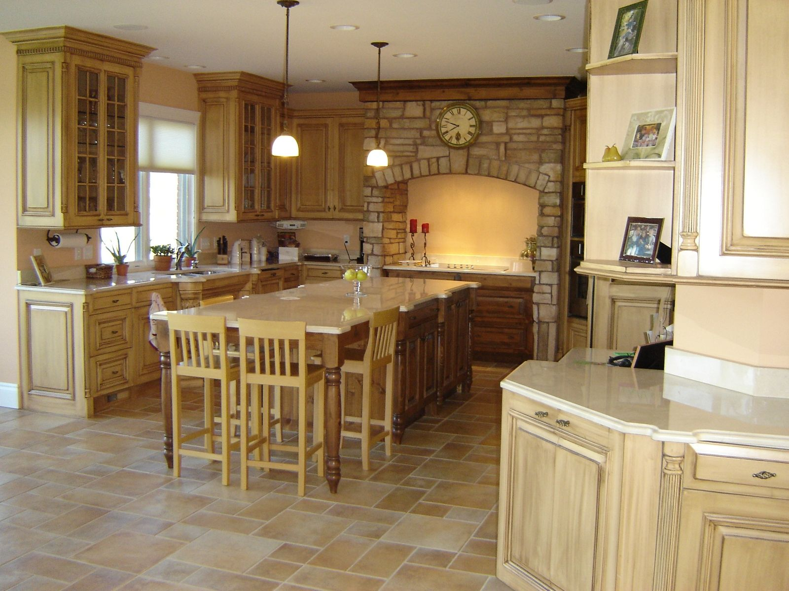 Best Kitchen Gallery: Custom Made Tuscan Kitchen By Custom Wood Creations Custommade of Tuscan Kitchen Hood Design on rachelxblog.com
