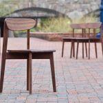 Buy Handmade Mid Century Modern Walnut Dining Chair Ariana Chair Made To Order From Mark Palmquist Design Custommade Com