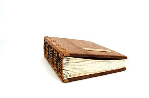 Hand Made Large Mahogany Photo Album - Scrapbook Handmade ...