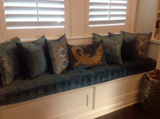 Hand Crafted Custom Hand Tufted Mattress Cushion Window Seat Bench Cushion Day Bed Cushion