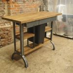 Hand Made Modern Industrial Kitchen Island Console Table By Camposironworks Custommade Com