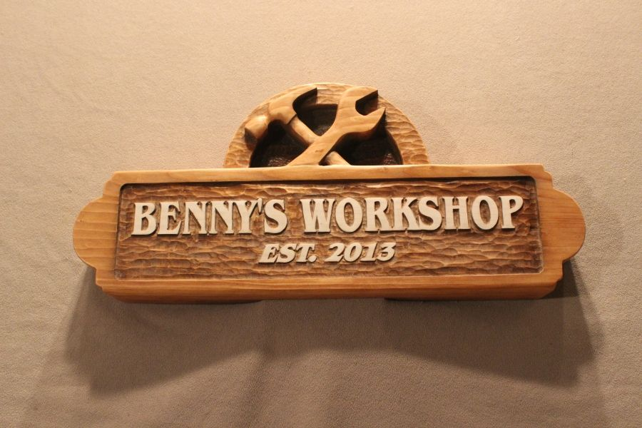 Hand Made Carved Wooden Signs | Custom Wood Signs | Shop ...