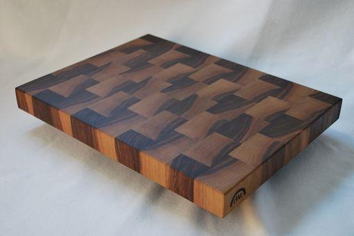 Hand Crafted Solid Walnut End Grain Butcher BlockCutting