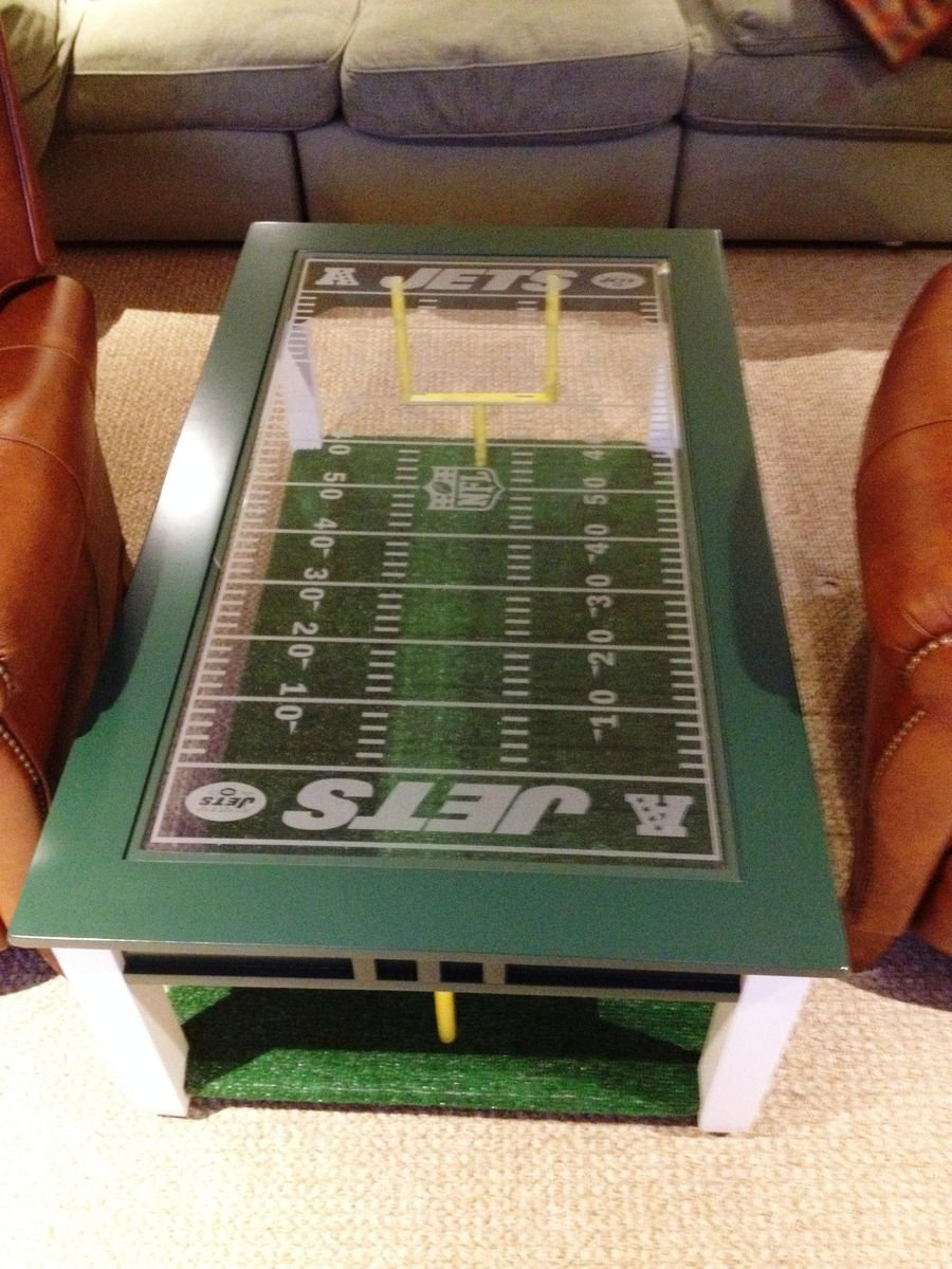 Hand Made Football Fan S Coffee Table By Impressive