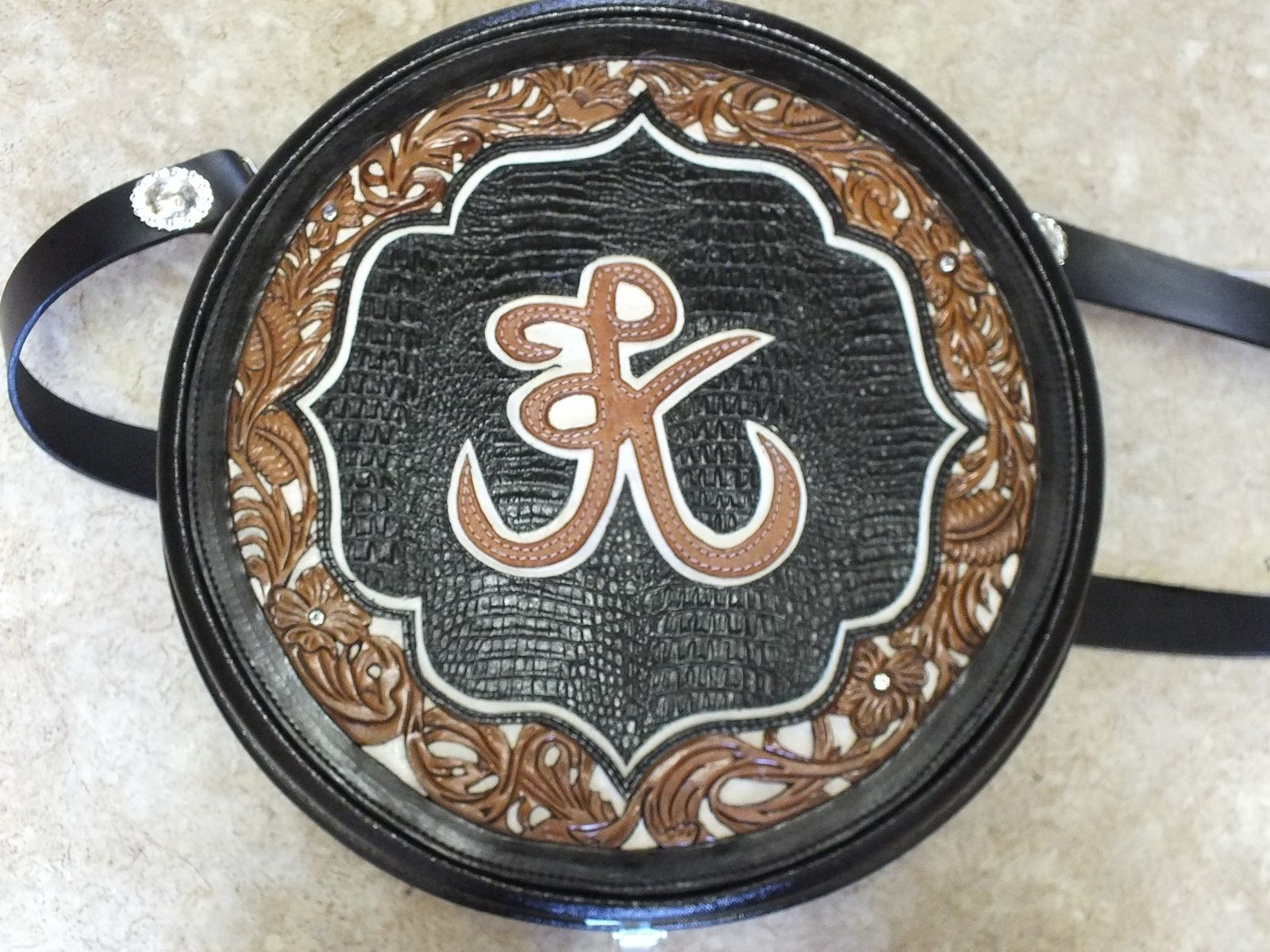 Custom Rope Can By Bear River Custom Leather