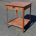 Custom Roger S Mid Century Modern Nightstand In Walnut By