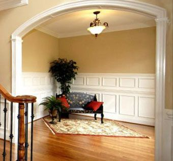 Custom Curved Archway Molding By Curved Molding Shop