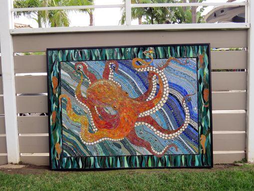 buy custom made octopus mosaic made to