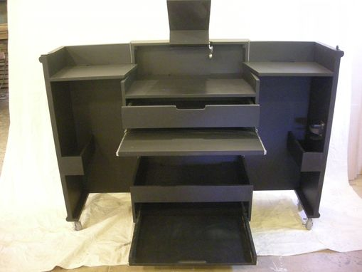 Custom Made Origami Portable Dj Booth By Stepan Design